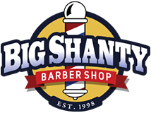 Big Shanty Barber Shop, Logo
